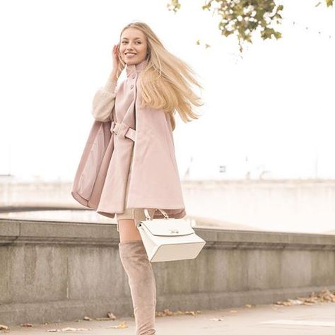 Follow the pastel trench road a la @freddy's #LTKunder100 find   Shop her style in the LIKEtoKNOW.it app   http://liketk.it/2uNQX #liketkit…