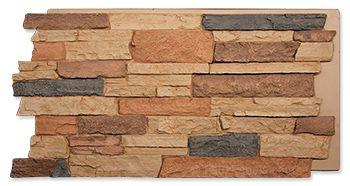 Desert Sand Dakota Stone Wall Stone Wall Design Faux Stone