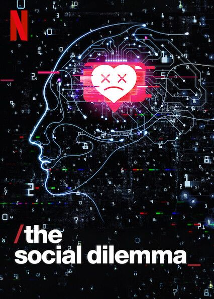 "Check out ""The Social Dilemma"" on Netflix in 2020 