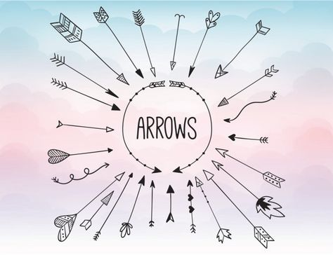 Arrow svg clipart - Arrow Monogram Svg Circle Arrow Svg Monogram Frame - circle arrow vector heart arrow digital download svg, png, dxf, eps