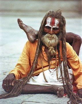 A Sadhu Is An Hindu Holy Man You Can Encounter Them All Over India And Nepal They Give Up Their Worldly Possessions To Wander The Country In Pray