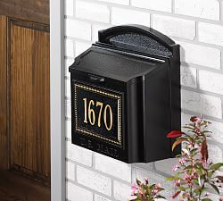Envelope Mailbox Home Improvement Loans Wall Mount Mailbox Home Improvement