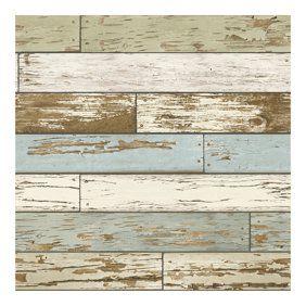 Brewster Barn Board Brown Thin Plank Wallpaper Walmart Com Distressed Wood Wallpaper How To Distress Wood Wood Wallpaper