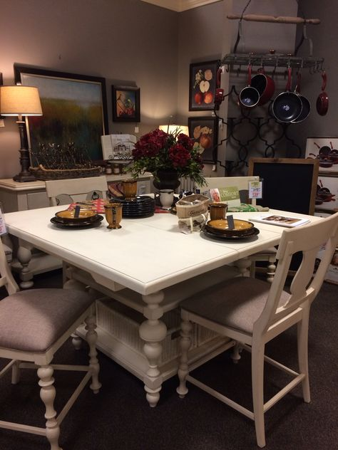 Paula Deen Counter Height Table And Chairs See On The Showroom