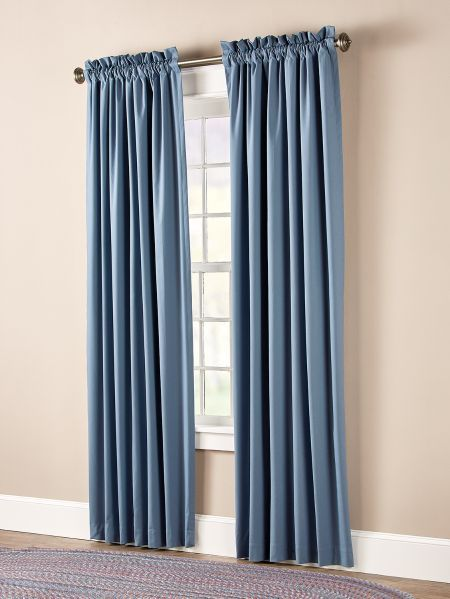Insulated Rod Pocket Curtains In 2020 Rod Pocket Curtains