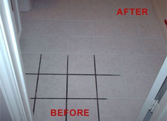 Tile is hard to keep clean and the grooves in between each tile is ...