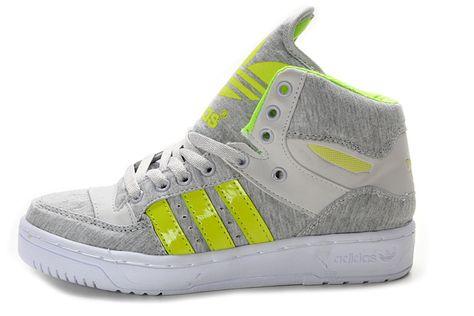 1893490994e90 Jeremy Scott Big Tongue Shoes Green Grey