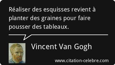 Citation Realiser Revient Pousser Vincent Van Gogh Phrase Na