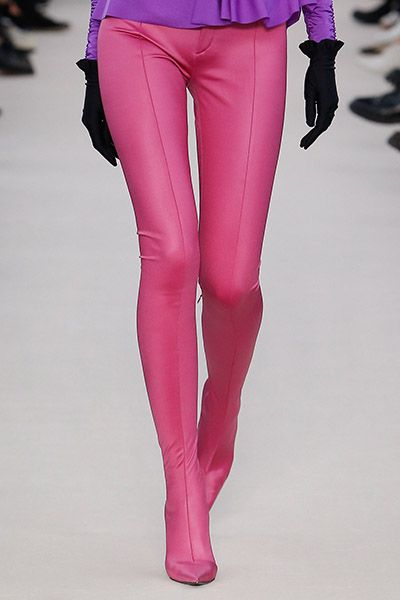 Full coloured tights and shoe combo
