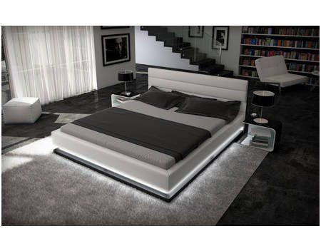 Simplistic Bett Mit Led Beleuchtung 140x200 Bed Lights Bedroom