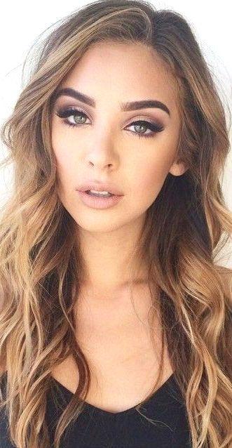 Amazing Summer Wedding Makeup In 2020 Brunette Makeup Amazing Wedding Makeup Wedding Makeup For Brunettes