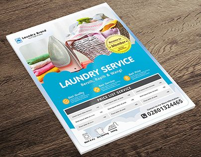 Laundry Services Flyer Laundry Service Laundry Shop Laundry