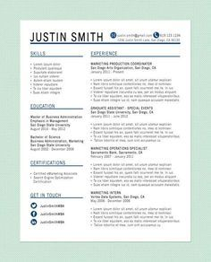 how a resume should look like