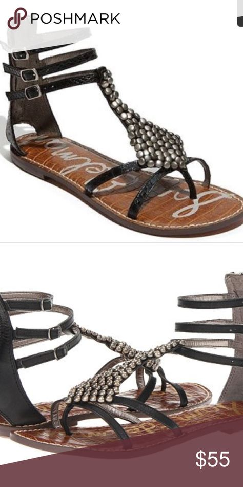 64cfc28985f76b Sam Edelman black ginger sandals 8.5 NEW Bring a boho-chic edge to your  day-to-day look with the Sam Edelman® Ginger sandals.