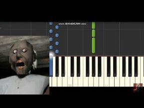 Granny Horror Game Music Soundtrack Piano Synthesia Part 1 Youtube Horror Game Soundtrack Piano
