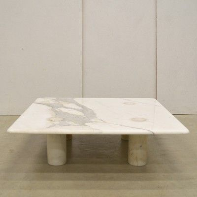 Angelo Mangiarotti Travertine Coffee Table For Up Up Italy 110919 Table Basse Table Consoles