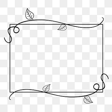 Decorative Ivy Vine Name Vines Frame Vector Page Decoration Vector Free Frame Clipart