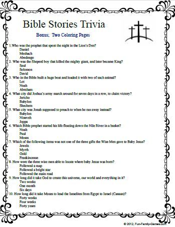Bible Trivia Questions And Answers Bible Quiz Questions Bible Facts Bible Quiz