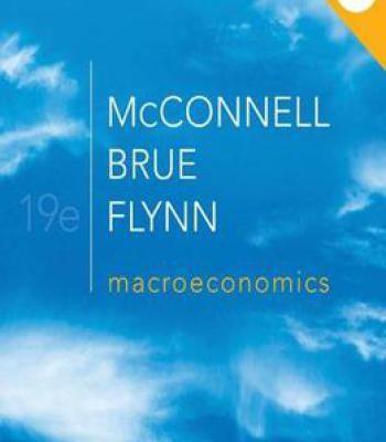 Macroeconomics 19th Edition PDF | Economics | Economics books