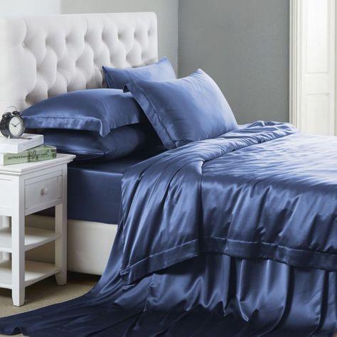 22mm 6 Teiliges Bettwasche Set Aus Seide Bettwasche Set Coole
