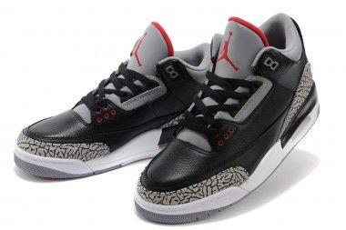 timeless design ef718 5bd5d Air Jordan 03 Black Gray