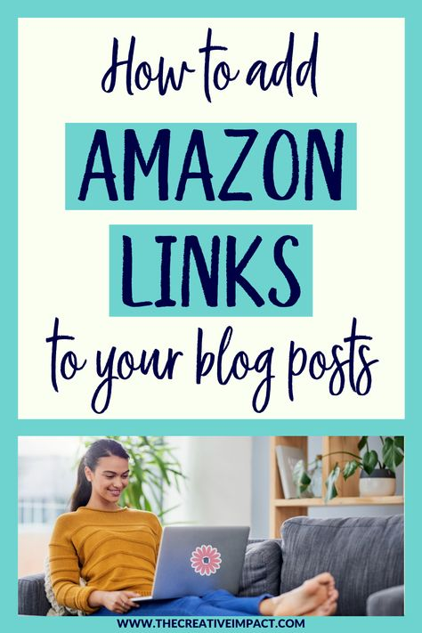 How to add AMAZON LINKS to your blog posts