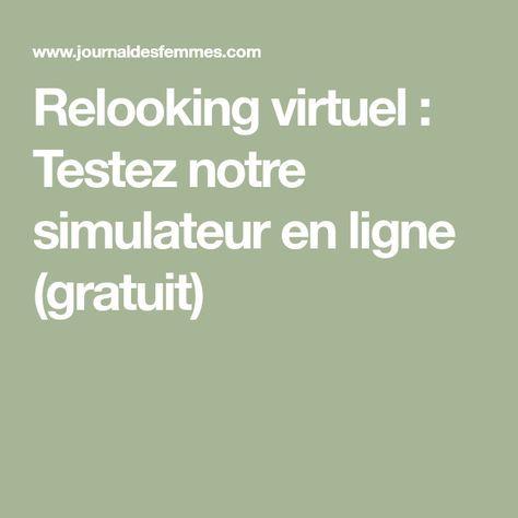relooking virtuel : testez notre simulateur en ligne