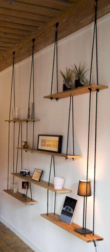 Impressive Diy Hanging Shelves Home Decor Diy Home Decor On A Budget Decor