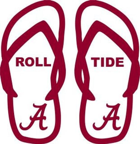 1e7d01734361 University of Alabama Crimson Roll Tide Bama Decal Lot SVG Cut ...