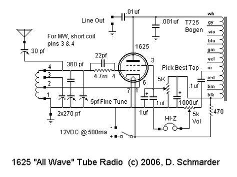 26615428f739a2eb2561f8c22916b857 crossword radio dave schmarder's 1625 all wave receiver schematic radio bogen t725 wiring diagram at mifinder.co