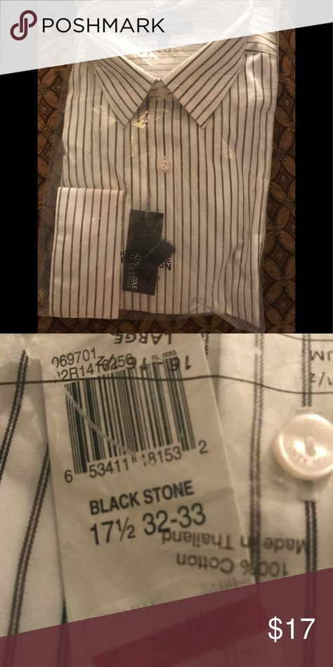 BNWT men's dress shirt Still in package with tags attached.  Perfect holiday gift Kenneth Cole Reaction Shirts Dress Shirts