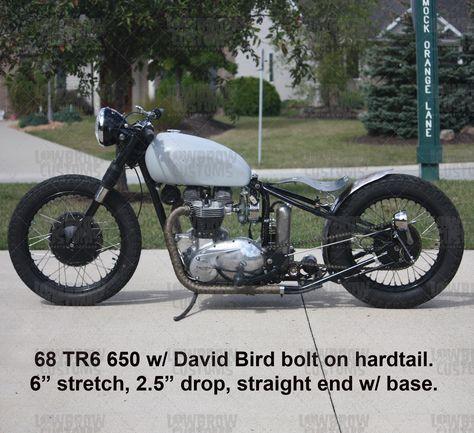Image Result For Triumph David Bird Oif Triumph Custom Bobber