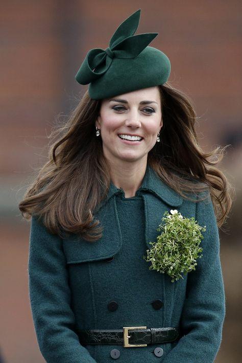 Kate Middleton's Hair on St. Patrick's Day
