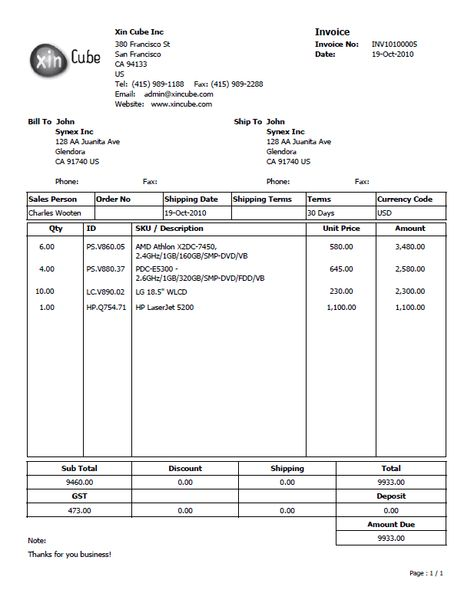 invoice sample Business Doc Pinterest Invoice sample - purchase order format word