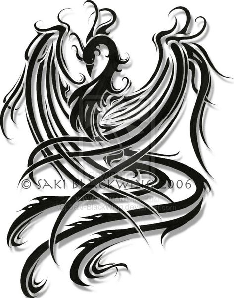 Phoenix Tattoos, Designs And Ideas : Page 8