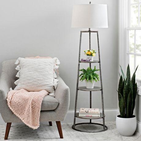 3 Tier Shelf Floor Lamp Shelf Floor Lamps Ideas Of Shelf Floor Lamps Shelffloorlamps Floor Lamp Bedroom Lamps Living Room Unique Floor Lamps