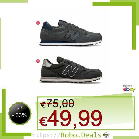 new balance gm 500 uomo grigio