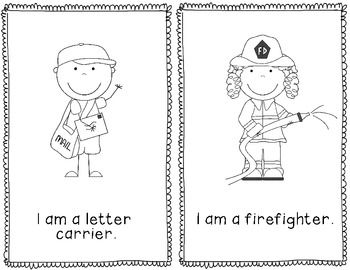 12 Free Community Helpers Coloring Sheets Community helpers Free