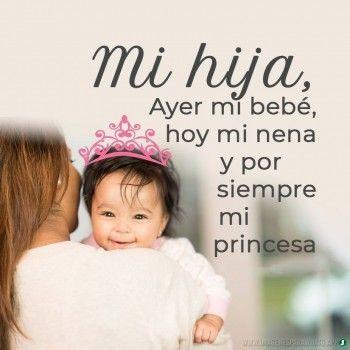 Imágenes De Bebes Con Frases Bonitas De Amor Para Whatsapp Frases Para Hijos Frases Para Bebes Amo A Mis Hijos Frases