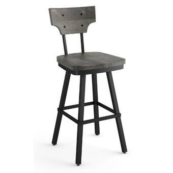 Marvelous Union Rustic Lorri Adjustable Height Swivel Bar Stool Caraccident5 Cool Chair Designs And Ideas Caraccident5Info