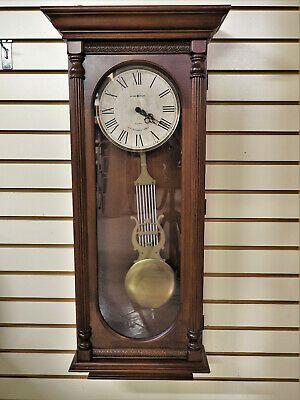 Ebay Ad Link New Howard Miller Helmsley Dual Chime Wall Clock In 2020 Clock Wall Clock Vintage Clock