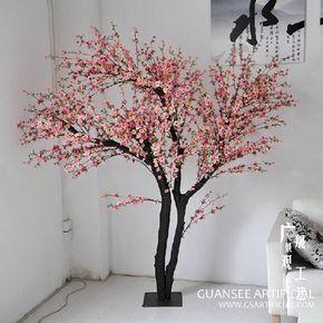 Artificial Wedding Flower Peach Blossom Tree Artificial Cherry Blossom Tree Peach Blossom Tree Cherry Blossom Flowers