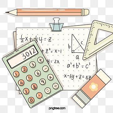 Cute Style Math Stationery Elements Math Clipart Mathematics Draft Png Transparent Clipart Image And Psd File For Free Download Math Clipart Math Wallpaper Math Design