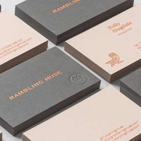 The 33 Most Famous Graphic Design Agencies From Around The World Fashion Business In 2020 Fashion Business Cards Graphic Design Business Card Debossed Business Card