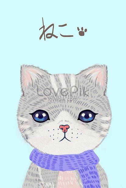 Contoh Gambar Kucing Kartun Lucu Berikut Di Bawah Ini Juga Saya Sertakan Contoh Cara Mewarnai Gambar Kucing Yang Lucu In Ilustrasi Kucing Kucing Kartun Lucu