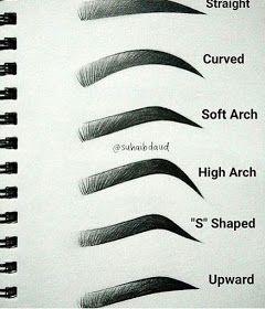 مدونة أرسم بالرصاص أرسم بالرصاص تعلم طريقة رسم الحواجب خطوة بخطوة Eyebrow Makeup Eye Makeup Beautiful Eyebrows