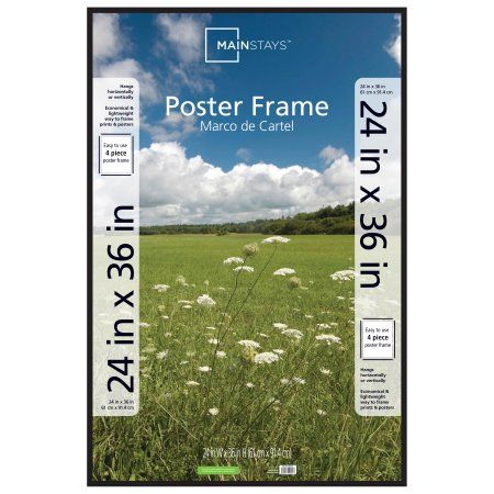 mainstays 24x36 thin poster and picture