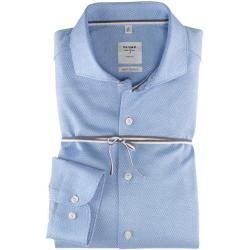Olymp Level Five Smart Business Hemd Body Fit Haifisch Bleu 45 Olympolymp In 2020 Fashion Plus Size Outfits Business Shirts
