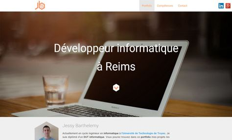 PORTFOLIO - Jessy Barthelemy, Développeur informatique - http://www.frenchy.fr/jessy-barthelemy-developpeur-informatique/