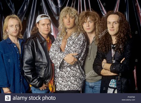 Download this stock image Def Leppard (v.l. Phil Collen